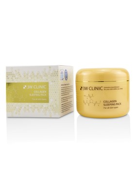 3W CLINIC Collagen Sleeping Pack 100ml