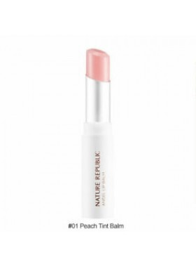 Nature Republic Moist Angel Lip Balm 01 Peach Tint Balm 3.3g